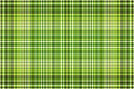 Green Plaid Stock Photo