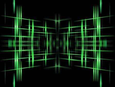 Groene abstracte achtergrond Stockfoto