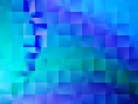 Shades of blue and green abstract background design  Banque d'images