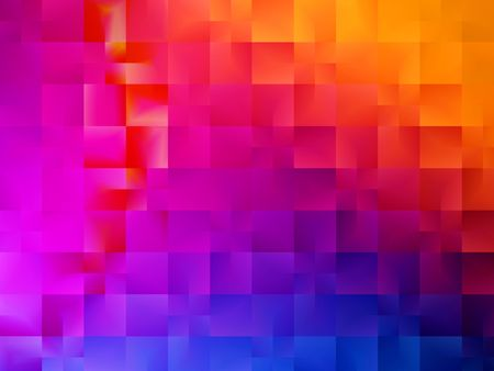 Shades of red pink orange and blue abstract background design
