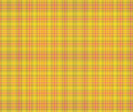 Yellow and pink plaid textured design background photo
