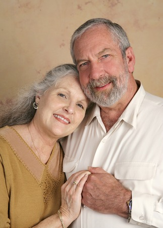 Portrait of a handsome middle aged couple Stock Photo