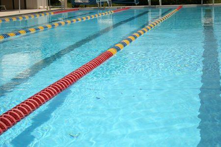 水泳のラップ