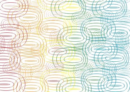 elipsy: colorful ellipse