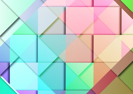 graphic background with intertwining modular decorative and multicolored