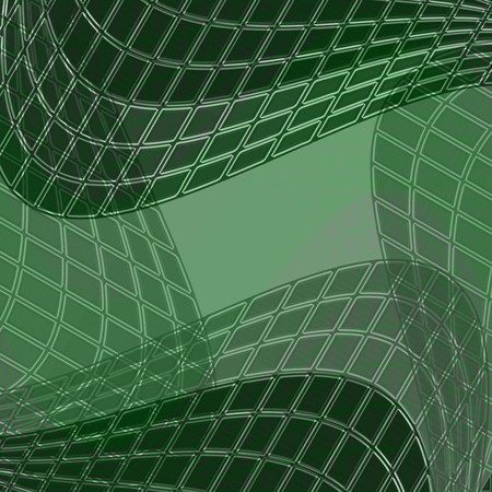 eg: graphic background with rectangular modules arranged in curve