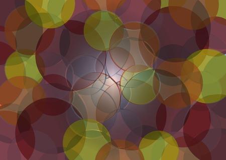 la union hace la fuerza: gr�fico de fondo con c�rculos de colores sobre un fondo neutro