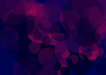 compound: graphic geometric background with colored circles