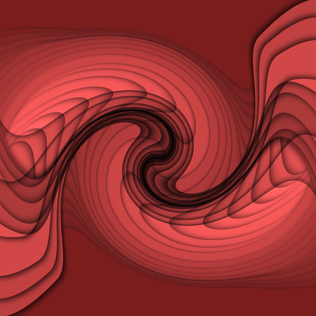 red wave: Abstract graphic background with red wave