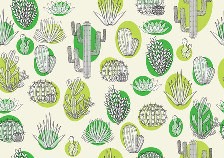 eg: printing fabric with cactus. for wallpaper, curtains and tablecloths