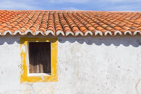 alentejo: Details of a Portuguese house in Santiago do Cacem, Alentejo, Portugal