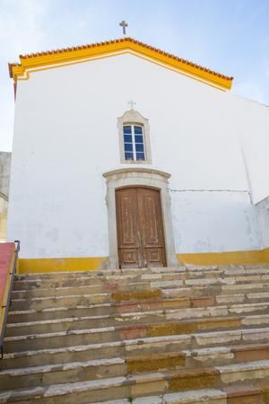 alentejo: Small Church in Santiago do Cacem, Alentejo, Portugal