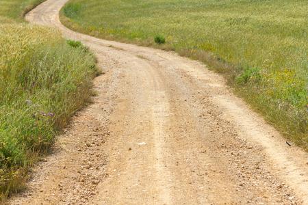 alentejo: Farm road in Vale Seco, Santiago do Cacem, Alentejo, Portugal