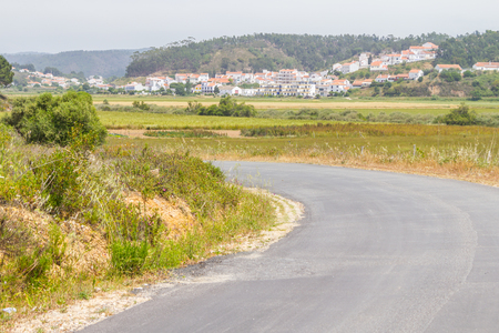 ribeira: Road to Odeceixe village, Alentejo, Portugal