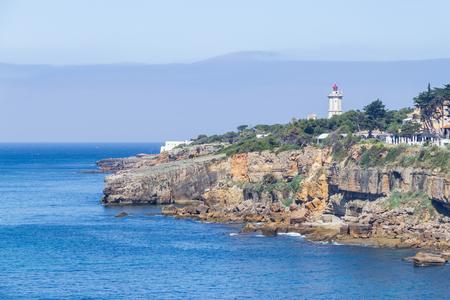 Farol da Guia lighthouse, Cascais, Portugal