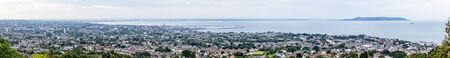 Panorama of Dublin bay from Killiney Hill, Ireland
