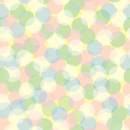 Seamless pattern of pastel-colored defocused lights. Stock Vector - 9755951