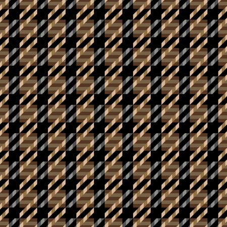Seamless tweed texture pattern in browns and black.  Vector