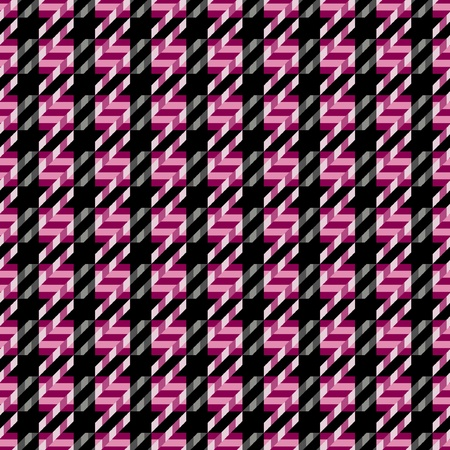 checker: Seamless tweed texture pattern in magenta and black.