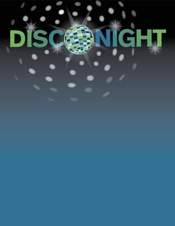 Disco dans achtergrond met ruimte voor tekst.