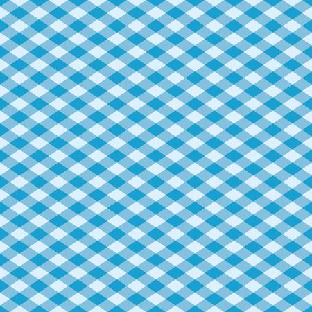 Sans soudure plaid patron de vecteur étant en bleu. Vecteurs