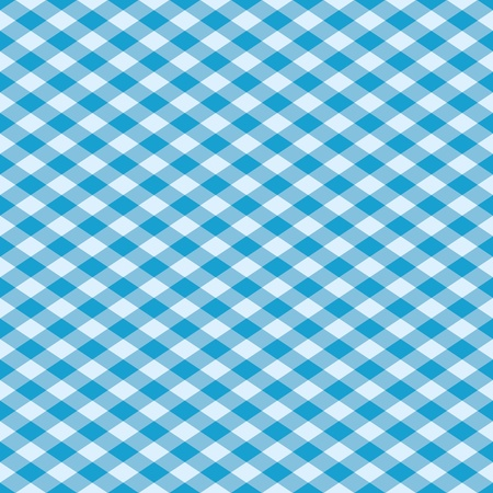 gingham: Vector seamless plaid pattern in blue.