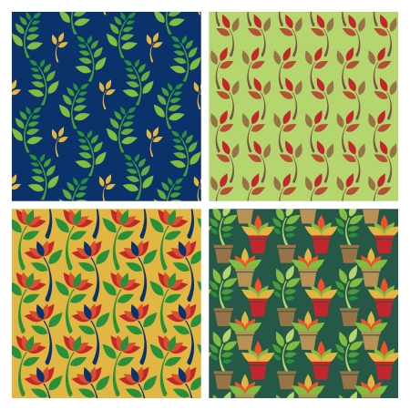 posy: Posy Patterns collection of four floral patterns repeat seamlessly