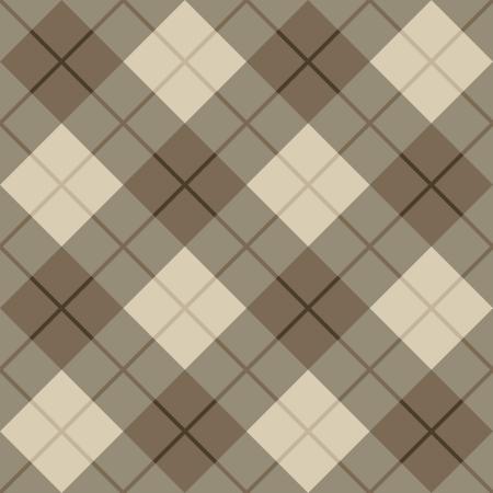 브라운에서 원활한 벡터 격자 무늬 패턴