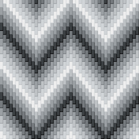 Herringbone Pattern in Greys has dimensional detail  Repeats seamlessly  Vector