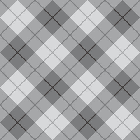 mod: Bias Plaid in greys repeats seamlessly  Illustration