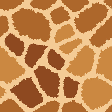 Giraffe pattern pelliccia trama si ripete senza soluzione. Archivio Fotografico - 43091406