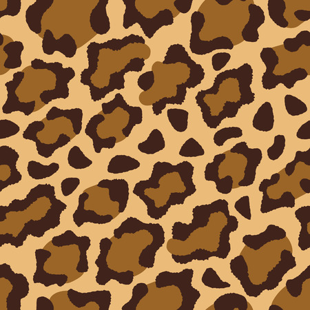 Leopard fur texture pattern repeats seamlessly.