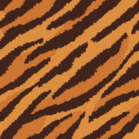 Tiger fur texture pattern repeats seamlessly.