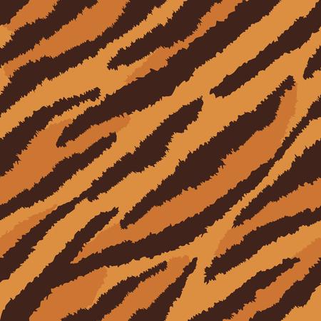 repeats: Tiger fur texture pattern repeats seamlessly.