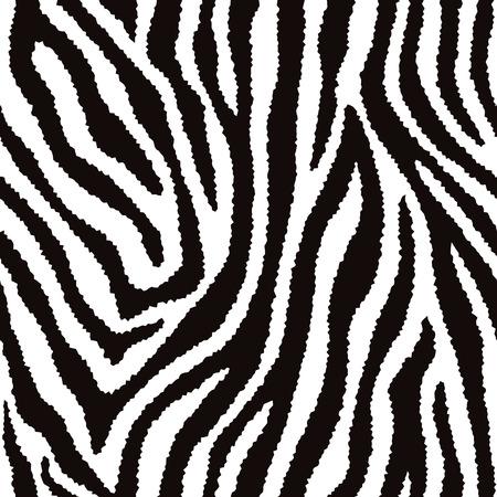 Zebra fur texture pattern repeats seamlessly.