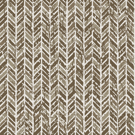 Abstract herringbone tweed pattern in neutral browns repeats seamlessly. Ilustrace