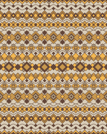 Art Deco border pattern in neutral colors repeats seamlessly. Ilustrace