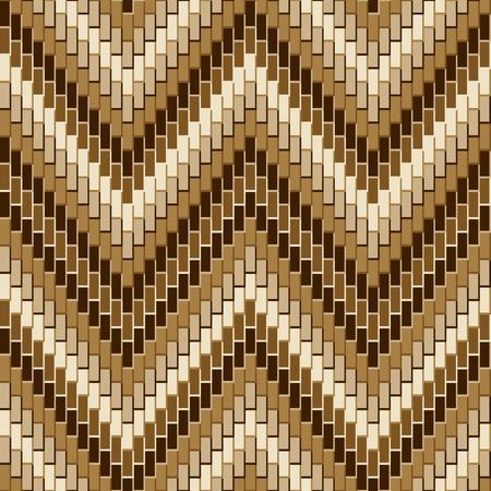 Herringbone pattern in neutral browns repeats seamlessly. Reklamní fotografie - 90650994
