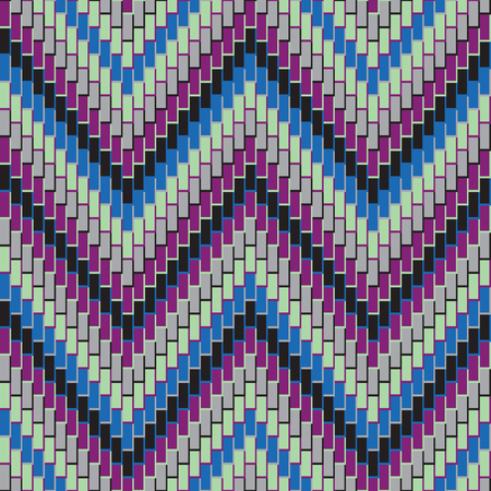 Herringbone zigzag pattern repeats seamlessly. Reklamní fotografie - 90168784