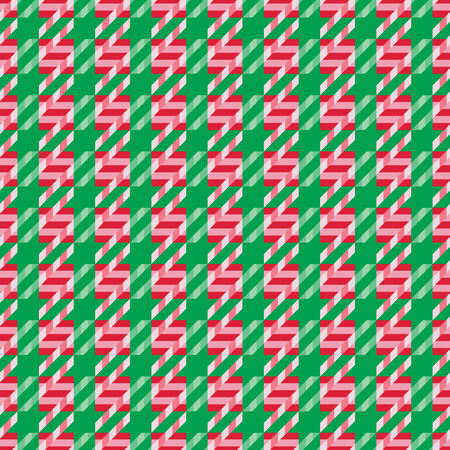 Christmas Candy Cane Pattern in holiday colors.