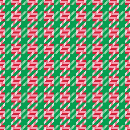 Christmas Candy Cane Pattern in holiday colors. Reklamní fotografie - 90908896