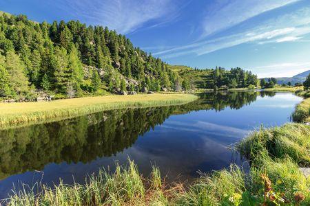 lake at nature reserve