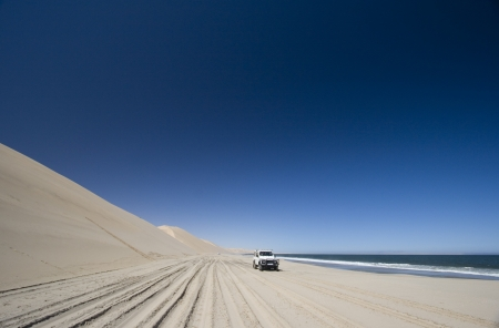 Off Road 4x4 adventure, Namib Desert, Namibia photo