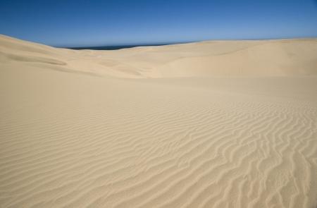 Namib Desert Dunes, Namibia Stock Photo