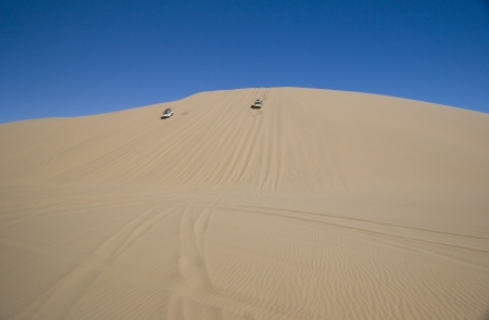 4x4 adventure on Namib desert dunes photo