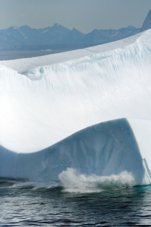 Iceberg off the coast of Greenland photo