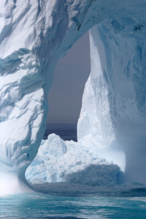 drift: Iceberg off the coast of Greenland  Stock Photo