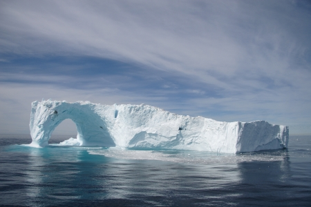 floe: Iceberg off the coast of Greenland