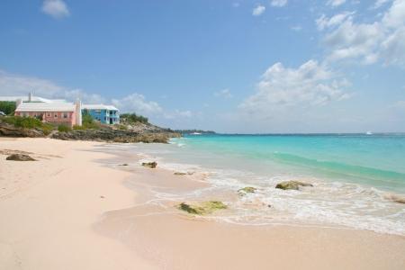 beach front: Bermuda beach front, Bermuda