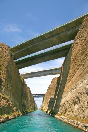 isthmus: Corinth Canal, Greece